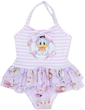 MonnaLisa donald duck print swimsuit