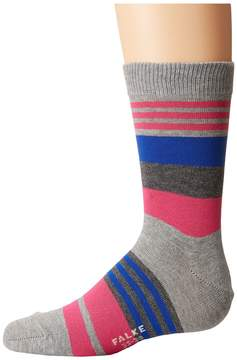 Falke Irregular Stripe Socks Crew Cut Socks Shoes