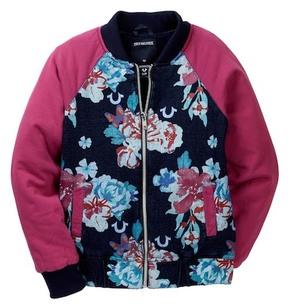 True Religion Floral Bomber Jacket (Big Girls)