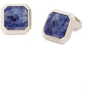 David Donahue Men's Sterling Silver Semiprecious Stone Cuff Links