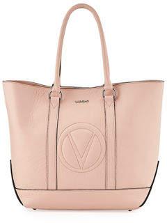Mario Valentino Valentino By Faith Dollaro Leather Tote Bag