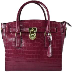 MICHAEL Michael Kors Hamilton Pink Leather Handbag