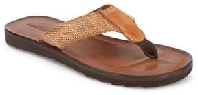 Lucky Brand Mens Aiden Woven Flip Flop Casual Sandal.