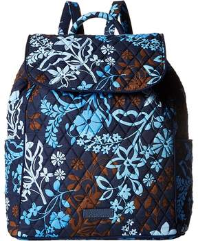 Vera Bradley Drawstring Backpack Backpack Bags - JAVA FLORAL - STYLE