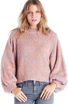 Sole Society Cocoon Sleeve Textured Sweater
