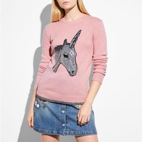 Coach Uni Intarsia Sweater