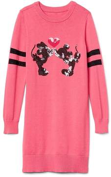 Gap GapKids | Disney Mickey Mouse and Minnie Mouse sequin sweater dress