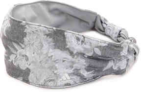 Women's Freestyle Floral Headband -Grey