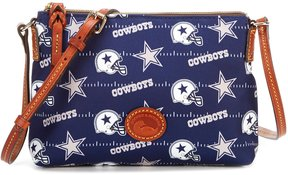 Dooney & Bourke Dallas Cowboys Cross-Body Pouchette - NAVY - STYLE