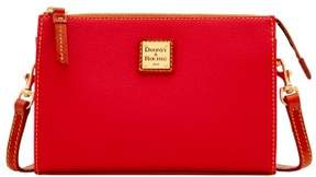 Dooney & Bourke Eva Janine Crossbody Shoulder Bag - CRIMSON - STYLE