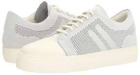Neil Barrett Paint Stripe Techknit City Trainer Men's Shoes