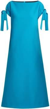 Emilia Wickstead Marlene cloqué stretch-crepe dress