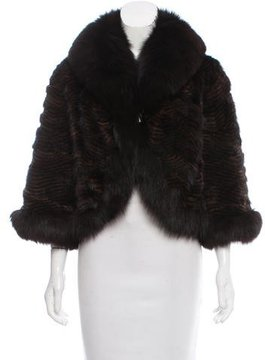 Alberto Makali Mink & Fox Fur Jacket