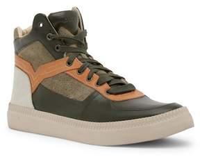 Diesel S-Spaark Leather High-Top Sneaker
