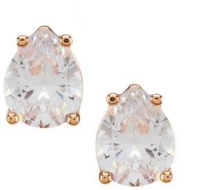 Cezanne Cubic Zirconia Pear Stud Earrings