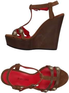 Pura Lopez Sandals