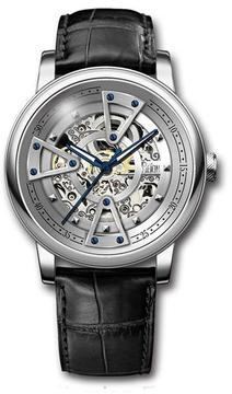 Reign Belfour Collection Men's Automatic Leather and Stainless Steel Watch
