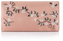 Adrianna Papell Stella Convertible Satin Clutch