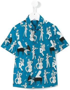 Dolce & Gabbana Jazz shortsleeved shirt
