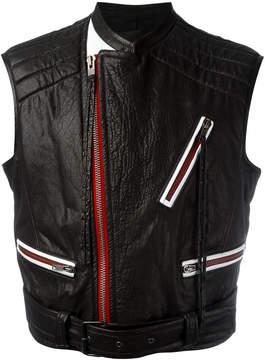 Haider Ackermann contrast zip detail jacket