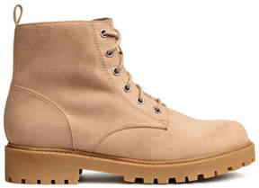H&M Pile-lined boots - Beige