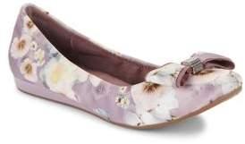 Bandolino Ferrista Floral Textile Ballet Flats