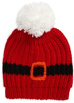 Collection XIIX Women's Chubby Santa Beanie - Red