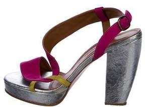 Rachel Comey Round-Toe Cutout Sandals