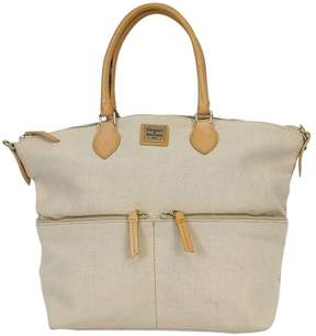 Dooney & Bourke Canvas Shoulder Bag - CREAM - STYLE