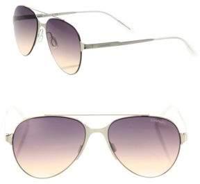 Carrera 57MM Aviator Sunglasses