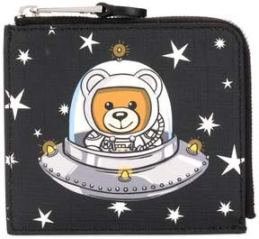 Moschino Teddy Bear print purse