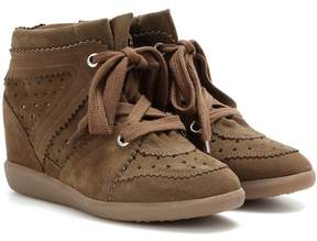 Etoile Isabel Marant Bobby suede wedge sneakers