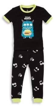 Petit Lem Baby's Two-Piece Monsters Tee & Shorts Set