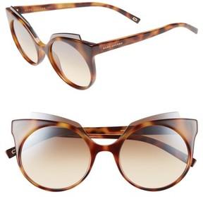 Marc Jacobs Women's 53Mm Oversized Sunglasses - Havana
