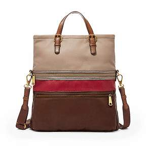 Fossil Explorer Tote in Red Multi, ZB5937995