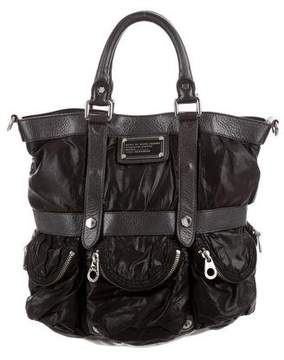 Marc by Marc Jacobs Leather-Trimmed Puffer Satchel