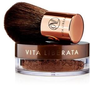 Vita Liberata Trystal(TM) Minerals Bronze Self Tanning Bronzing Minerals & Kabuki Brush