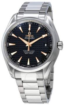 Omega Seamaster Aqua Terra Automatic Black Dial Men's Watch 23110422101006