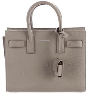 Saint Laurent Nano Sac de Jour - GREY - STYLE