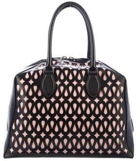 Alaia Laser Cut Handle Bag