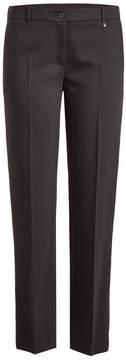 Jil Sander Navy Slim Pants with Wool