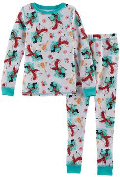 Cuddl Duds Disney's Elena of Avalor Toddler Girl 2-pc. Thermal Base Layer Top & Pants Set by