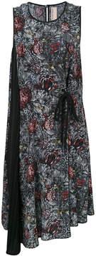 Antonio Marras asymmetric wrap dress