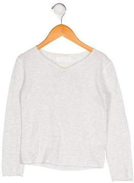 Zadig & Voltaire Girls' Knit Long Sleeve Top