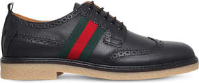Gucci Leather derby brogue shoes 8-10 years