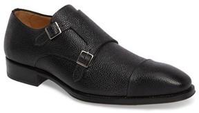 Mezlan Men's Lubrin Double Monk Strap Shoe