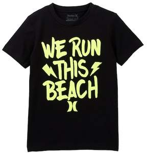 Hurley We Run This Beach Tee (Big Boys)