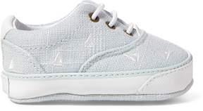 Ralph Lauren Vaughn II Boat-Print Sneaker