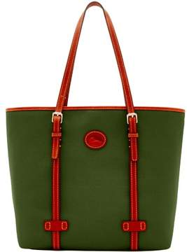 Dooney & Bourke Nylon East West Shopper Tote - OLIVE - STYLE