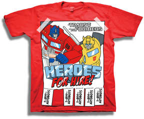 Freeze Toddler Boys Graphic Tees Transformers Graphic T-Shirt-Toddler Boys